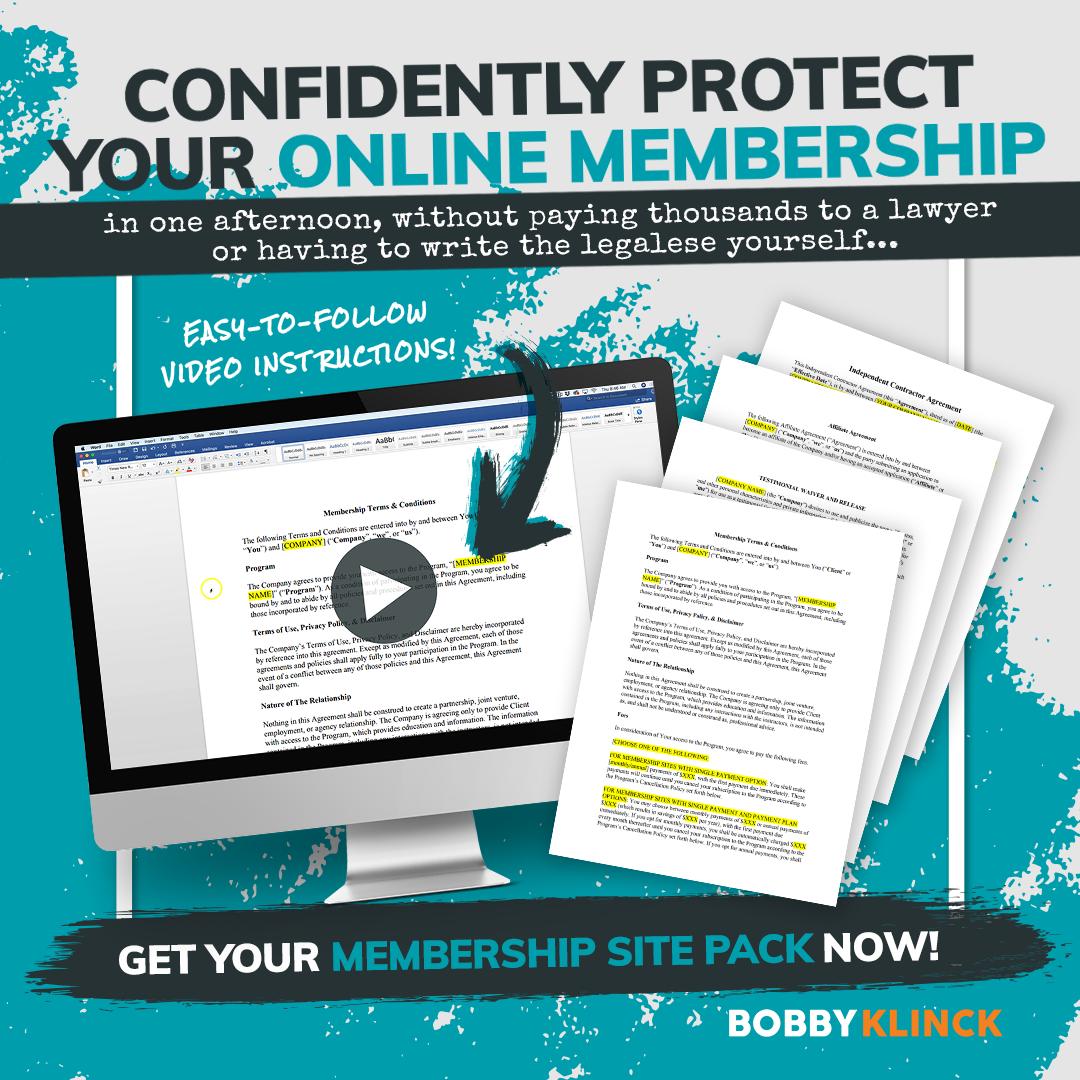 membership legal terms