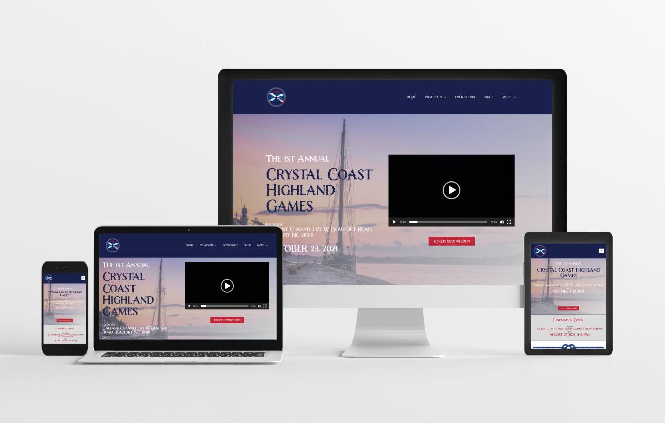 crystal coast highland games